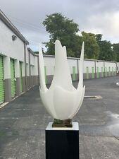 1970s Rougier Tulip Table Lamp - Mid Century Modern