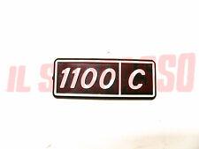 SCRITTA SIGLA PARAFANGO POSTERIORE FIAT 128 BERLINA 1100 C IN PLASTICA ORIGINALE