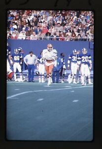 NY Giants vs. Cleveland Browns - Action Shot - 1970s NFL Football 35mm Slide