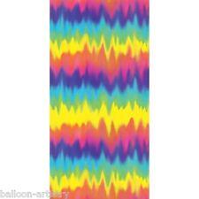 Groovy Anni 1960 Psichedelica Muro Scena Setter Decorazione Banner Hippy Rainbow 60s