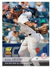 Miguel Andujar 2018 TOPPS MLB ALL-STAR ROOKIE TEAM MLB TOPPS NOW CARD NY Yankees