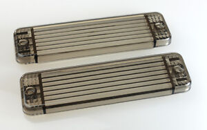 NEW Pair of Smoked Indicator lenses for ARB Bullbars. 135x38mm tinted, Signals