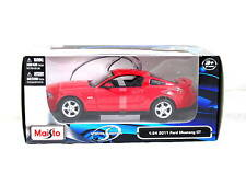 MAISTO 2011 FORD MUSTANG GT RED 1/24 DIECAST CAR