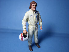 JACKIE  STEWART 1/18  PAINTED  FIGURE  BY  VROOM   FOR  TYRRELL   F1  EXOTO