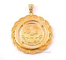 Resat Altin Ceyrek Tugra Gold Münze Türkisches 24 Karat GP Altin Kaplama 4,6 cm