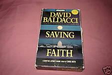 Saving Faith by David Baldacci (1999) USED audio book