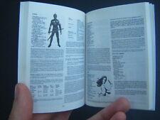 Ad&D Monster Manual II Miniature BOOK mini handbook