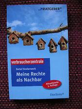 Meine Rechte als Nachbar von Detlef Stollenwerk (2009, Taschenbuch)