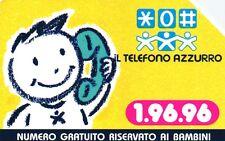 G 637 C&C 2703 SCHEDA TELEFONICA USATA TELEFONO AZZURRO