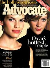 THE ADVOCATE GAY & LESBIAN MAGAZINE - HILARY SWANK - BOYS DON'T CRY 2000