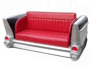 Sofa Couch Diner Cadillac USA Deko Autosofa Amerika Style Möbel Couchen Sofas