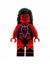 Design Personnalisé figurine rouge ELLE HULK Version 2 Imprimé sur LEGO Pièces