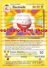 ELECTRODE - RARA 21/102 - POKEMON - ITALIANO - GOOD - COLLEZIONAMI SHOP