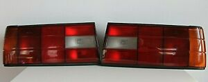 Tail Lights BMW E30 Late Facelift OEM Euro Rear Full Set Taillights Genuine