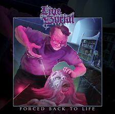 Live Burial-forced back to life (UK), CD (death doom metal from Newcastle!)