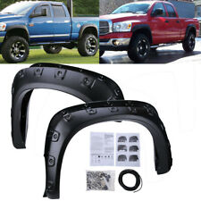 Fender Flares Cover For 02 08 Dodge Ram 1500 03 09 Ram 2500 3500 Pocket Rivet Fits More Than One Vehicle