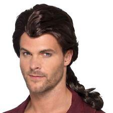 Marauder Hunky Fairytale Prince Heartthrob Wig - Pirate Brown AC Mens Fancy