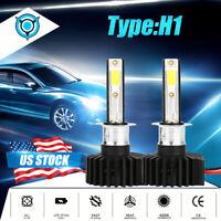 H1 LED Headlight Bulb Kit 2200W 330000LM High Beam Fog Light 6000K Super White