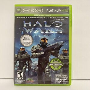 Halo Wars Platinum Hits Microsoft Xbox 360 Video Game Complete