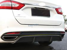 2013-2017 For Ford Fusion Mondeo Rear Bumper Diffuser Lip Spoiler Cover Trim
