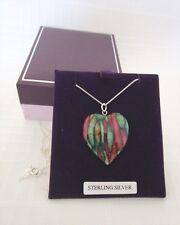 Heathergems Pendant - Medium Heart - New - First Quality - #6 - 37