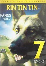 Rin Tin Tin in Fangs Of The Wild - w/ 7 Bonus Movies ( DVD, 2016 )