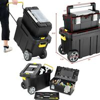 Rolling Tool Chest Portable Toolbox Mechanics Cabinet With Wheels Tools Storage