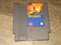 Spelunker Nintendo Nes Cleaned & Tested Authentic
