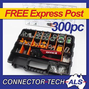 Genuine Deutsch DT Connector Plug Kit 300pc With Crimp Tool Automotive #DT-KIT9