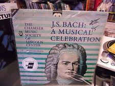 J.S. Bach A Musical Celebration vinyl LP 1985 Musicmasters Records Sealed