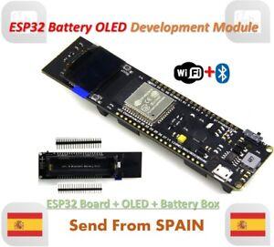 Wifi Bluetooth Battery ESP32 ESP-32 0.96 inch Oled Development Tool Wems Ttgo
