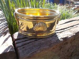 Small Vintage Brass Plant Trinket Pot Trough Ref MP/120