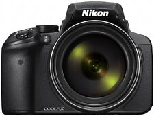 Nikon COOLPIX P900 P900BK Digital Camera Black 16MP 83x Bridge from Japan BNIB
