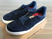 New Balance CT 300 Blue Suede Shoes Size US 13, Made in England