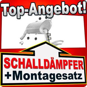 Endschalldämpfer für CITROEN JUMPER PEUGEOT BOXER FIAT DUCATO 2.2HDI/JTD 2.3JTD