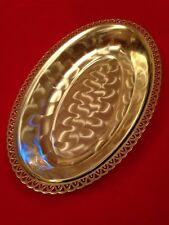 Vintage Silver Plated Bowl By Hogri, W.Germany c.1960-1990
