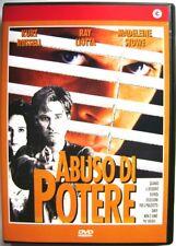 Dvd Abuso di potere con Kurt Russell 1993 Nuovo