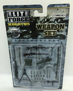 New Elite Force 1:18 Scale Weapons Set No. 000840