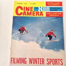 Cine Camera 8mm Magazine Bauer 88L Zoom December 1962 061517nonrh