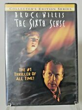 The Sixth Sense Collector's Edition Bruce Willis Wi 00006000 descreen New Sealed Dvd