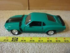 Maisto 1/24 scale diecast metal, 1970 Boss 302 Ford Mustang model. Nice!
