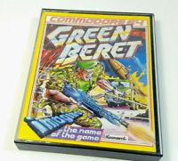 Green Beret Konmai / Imagine Commodore 64 C64 Original Spiel Cassette Sammlung