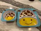 Skip+Hop+Giraffe+Zoo+Plate+%26+Bowl+Set