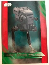 2017 Topps Star Wars The Last Jedi #61 First Order Walker GREEN NrMint-Mint