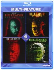 HELLRAISER :COLLECTION (4 movies)  -  Blu Ray - Sealed Region free for UK