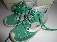 Superfit Lauflernschuhe Schuhe Gr.24 in Beige Grün Leder WMS Mittel IV