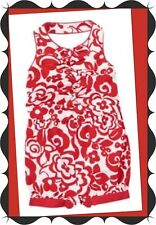 """NWT 12-18 Gymboree """"PARISIAN AFTERNOON"""" Red White HALTER 1pc Lined Floral ROMPER"""