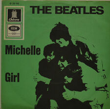 "BEATLES - MICHELLE - RAGAZZA - ODEON 23152 7"" (J51)"