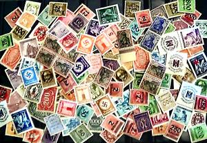 g.Lot Briefmarken Deutsches Reich ungestemp.-Postfr. Marken v. A bis Z Fundgrube