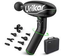 Pro 2 Heated Massage Gun Deep Tissue, 2021 All New Muscle Massager Gun with 180°